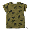 Sproet & Sprout Sproet & Sprout T-Shirt print Cockatoo Tropical green