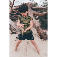 Sproet & Sprout T-Shirt print Cockatoo Tropical green