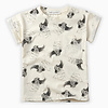 Sproet & Sprout Sproet & Sprout T-Shirt print Cockatoo Summer white