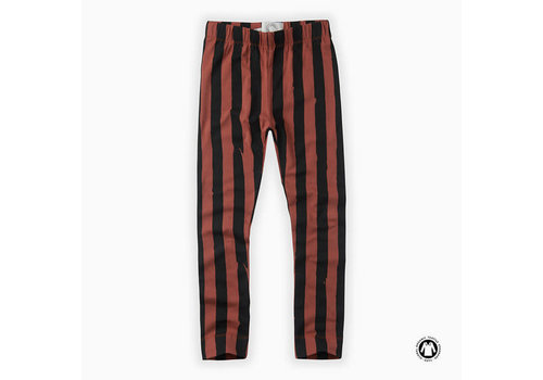 Sproet & Sprout Sproet & Sprout Legging Painted Stripe Mango
