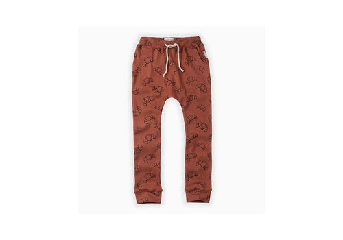 Sproet & Sprout Sproet & Sprout Sweatpants print Croissant