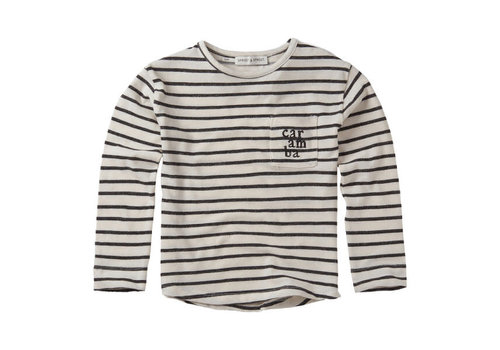 Sproet & Sprout Sproet & Sprout T-shirt L/S Stripe Summer white