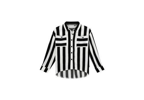 Levv Levv FILOU S201 Black White Stripe