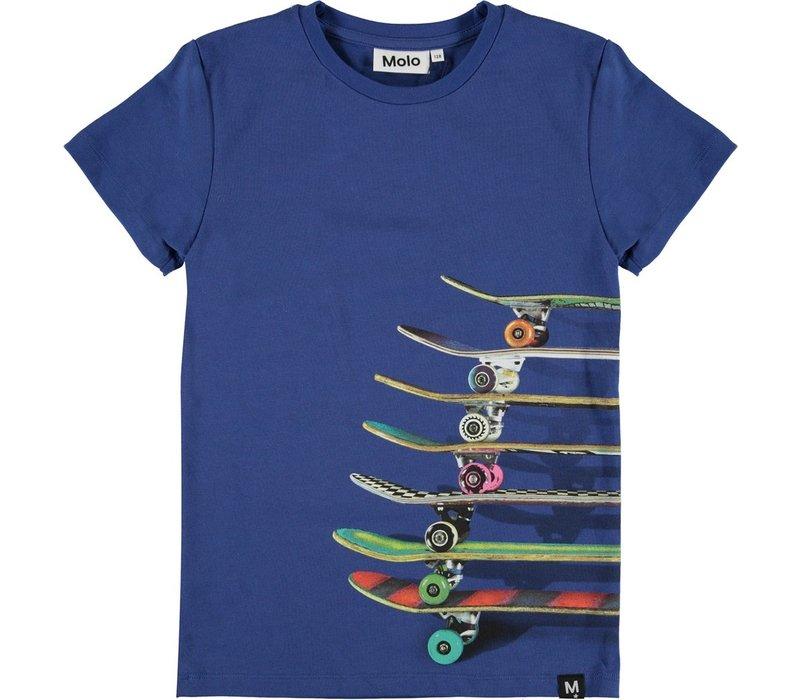 Molo Raven Skateboards Blue