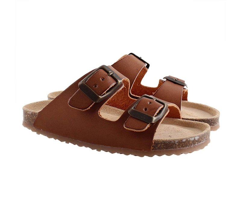 Enfant Sandal With Buckles 106 Camel