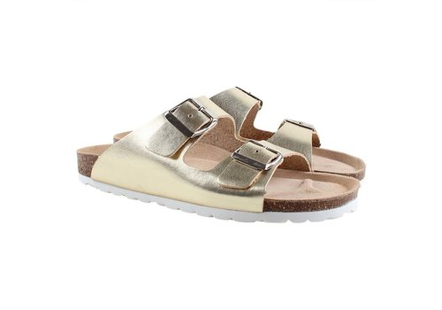 Enfant Enfant Sandal With Buckles 231 Gold