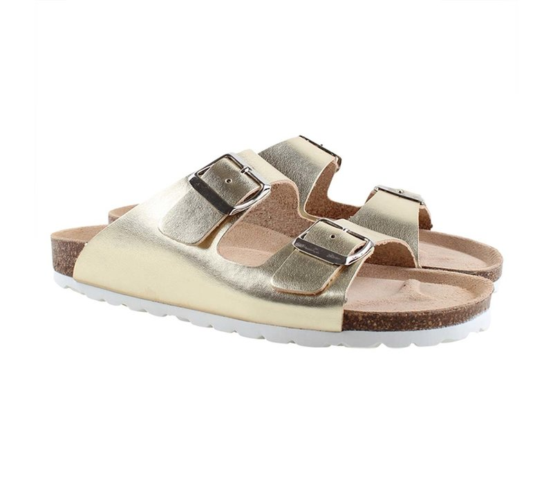 Enfant Sandal With Buckles 231 Gold