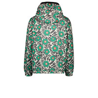 Moodstreet  jacket AOP flower Green