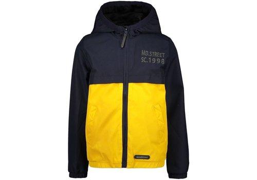 Moodstreet Moodstreet  jacket contrast yoke Navy