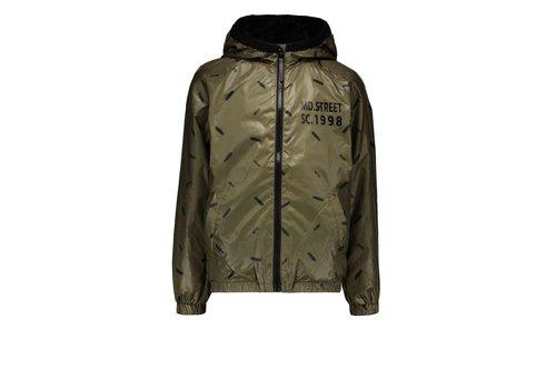 Moodstreet Moodstreet  jacket AOP skate Khaki
