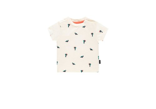 Noppies Noppies B Regular T-shirt ss Atascocita Blanc de Blanc