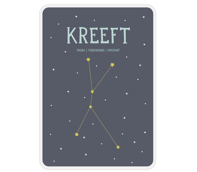 Milestone Zodiac Poster Card Kreeft