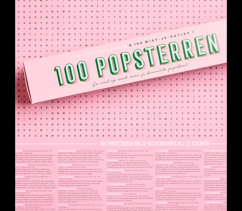 XL poster '100 popsterren'