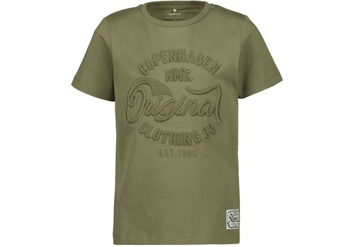 Name it T-SHIRT MALE KNIT OCO100 Loden Green