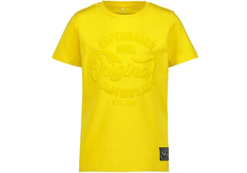 Name it T-SHIRT MALE KNIT OCO100 Empire Yellow