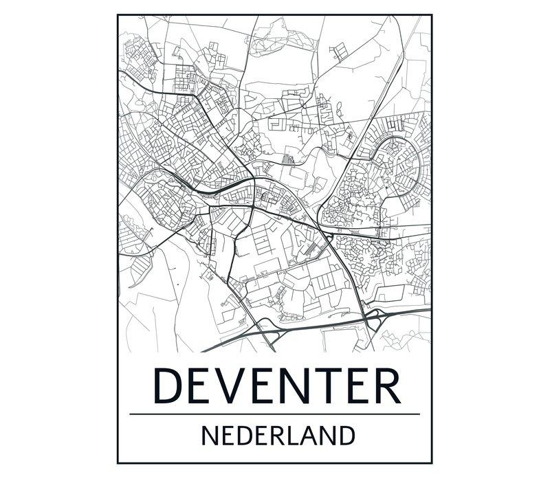 Deventer kaart