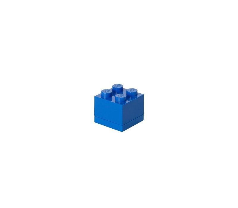 Lego lunchbox mini blauw