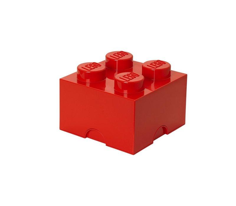 Lego Brick opbergbox rood xl