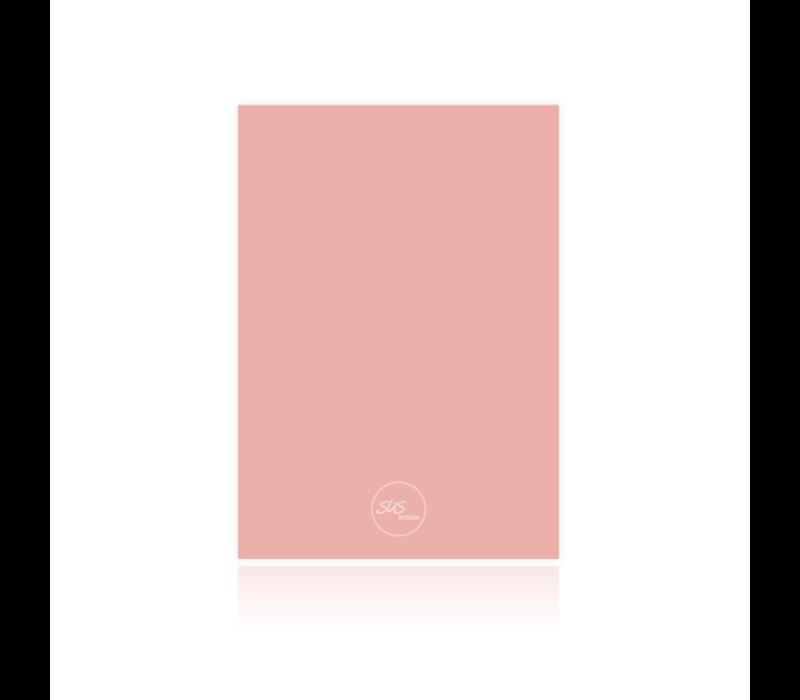 Bewaarbundel geboortekaartjes roze