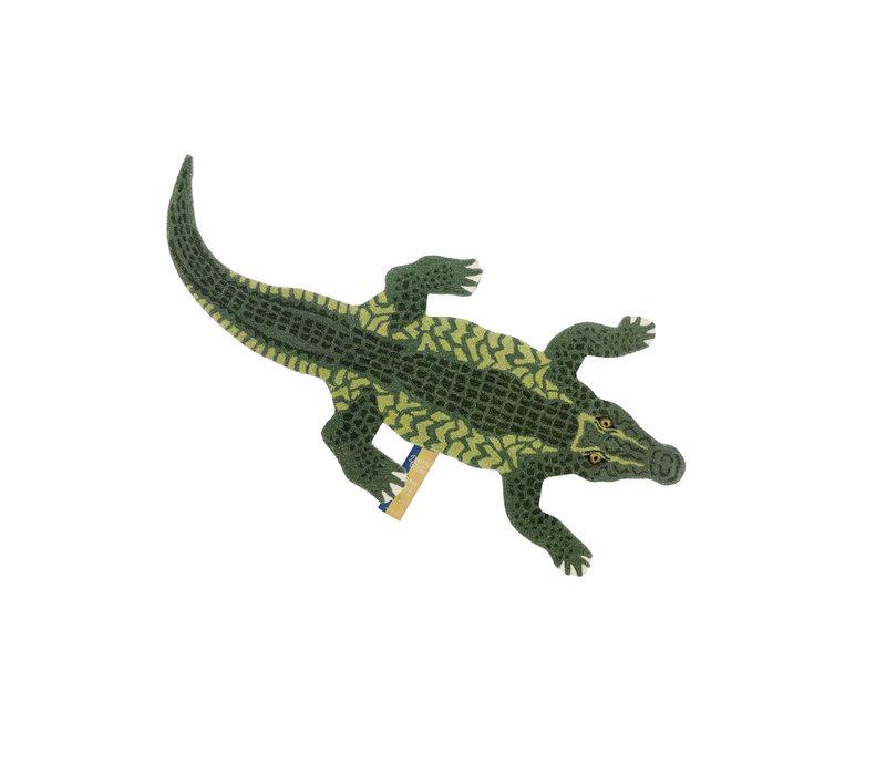 Doing Goods vloerkleed Crocodile large