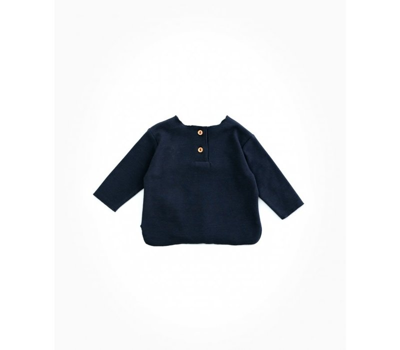 PlayUp Rib T-Shirt RASP