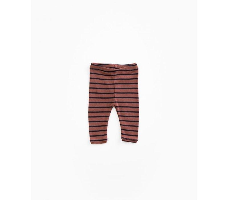 PlayUp Striped Rib Leggings TAKULA