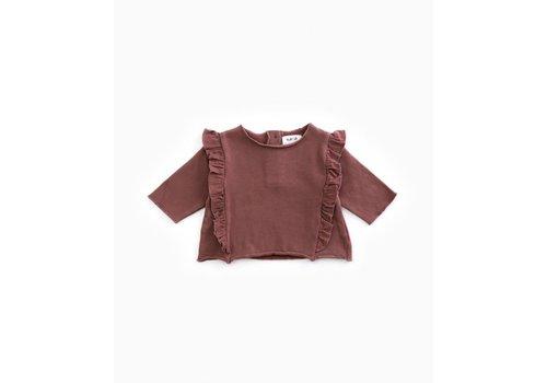 PlayUp PlayUp Fleece Sweater PURPLEWOOD