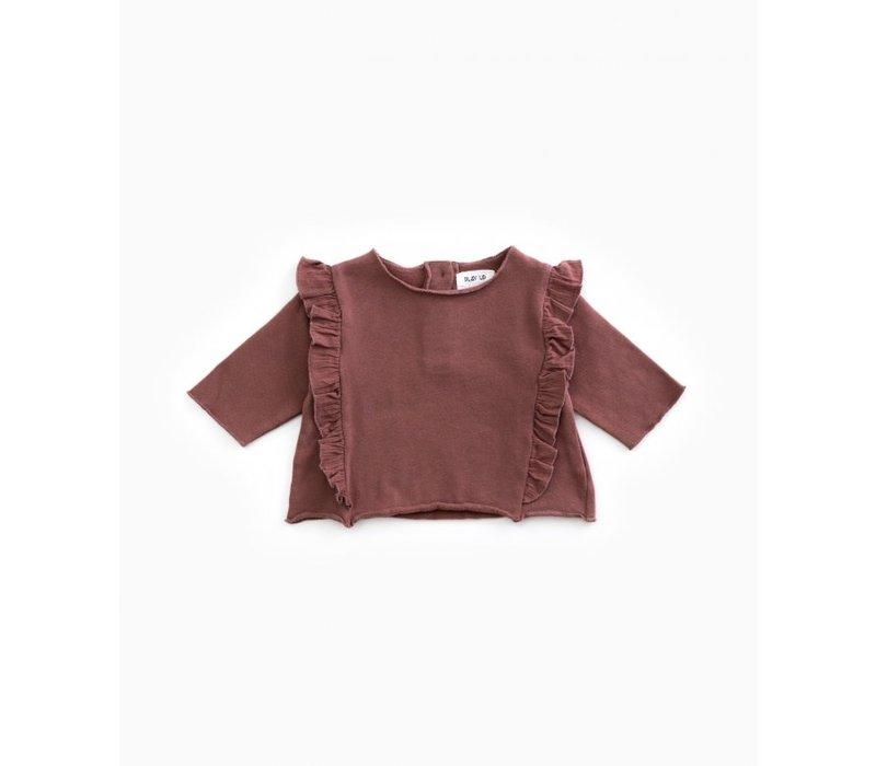 PlayUp Fleece Sweater PURPLEWOOD