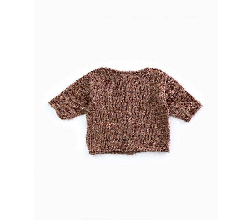 PlayUp Knitted Cardigan OREGON PINE