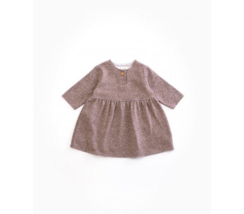 PlayUp Fleece Dress WALNUT
