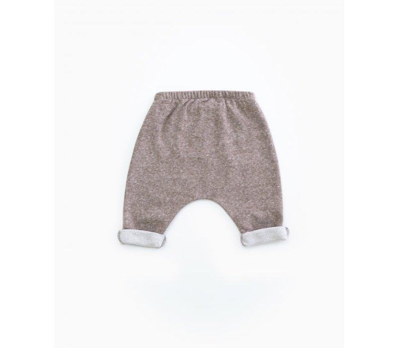 PlayUp Fleece Trousers WALNUT