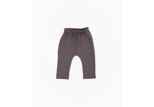PlayUp PlayUp Striped Jersey Leggings PURPLEWOOD