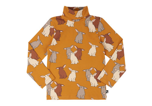 CarlijnQ CarlijnQ Rabbits - longsleeve turtle neck