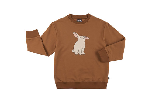 CarlijnQ CarlijnQ Rabbits - sweater with print