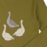 CarlijnQ Goose - Longsleeve with print