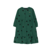 "Tinycottons Tinycottons ""BIG DOTS"" DRESS dark green/black"