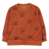 "Tinycottons Tinycottons ""FOXES"" SWEATSHIRT sienna/navy"