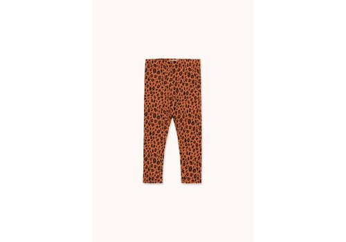 "Tinycottons Tinycottons ""ANIMAL PRINT"" PANT sienna/dark brown"