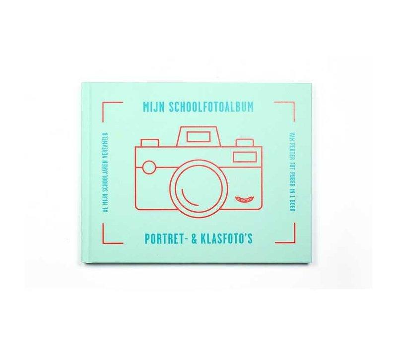 Stratier Schoolfotoalbum blauw