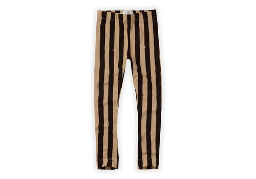 Sproet & Sprout Sproet & Sprout Pants Painted Stripe Nougat Black / Nougat