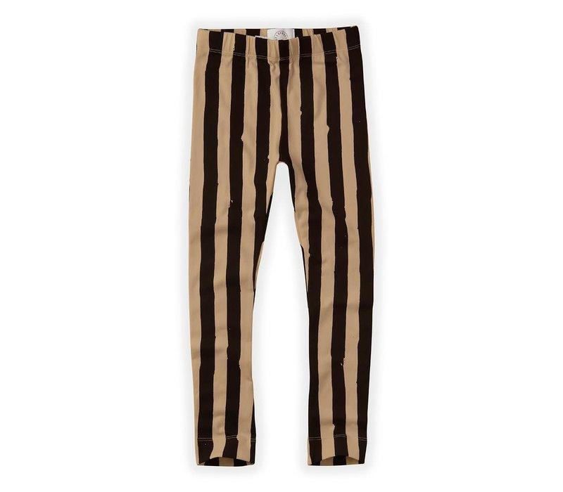 Sproet & Sprout Pants Painted Stripe Nougat Black / Nougat