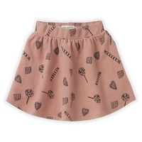 Sproet & Sprout Skirt Candy AOP Mauve