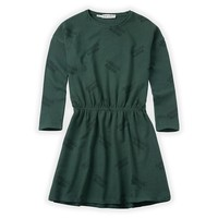 Sproet & Sprout Dress Abracadabra AOP Dusty Green