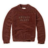 Sproet & Sprout Fuzzy Sweater Abracadabra Chocolate