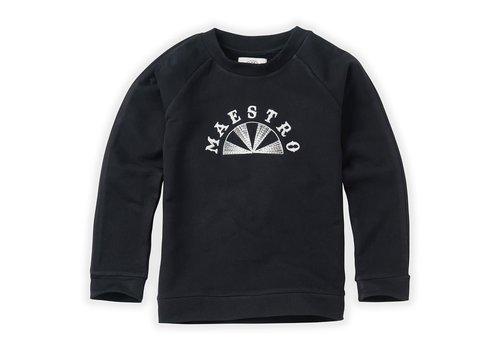 Sproet & Sprout Sproet & Sprout Sweatshirt Raglan Maestro Black