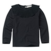 Sproet & Sprout T-shirt collar Black Black
