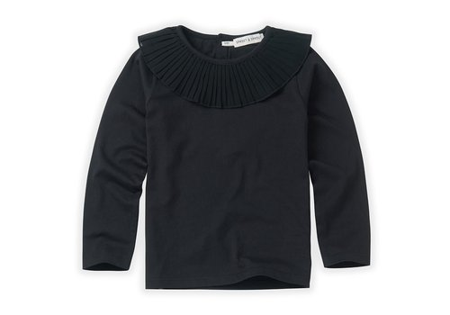 Sproet & Sprout Sproet & Sprout T-shirt collar Black Black