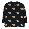 """Tinycottons Tinycottons """"FOXES"""" TEE navy/camel"""