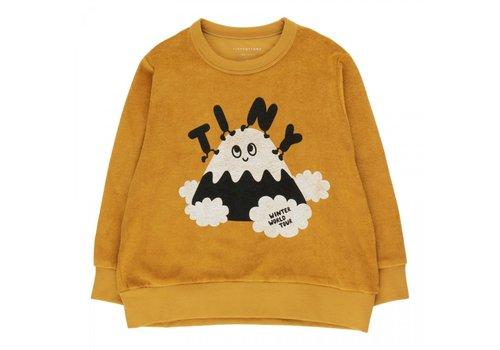 "Tinycottons Tinycottons ""TINY FUJI"" SWEATSHIRT mustard/navy"