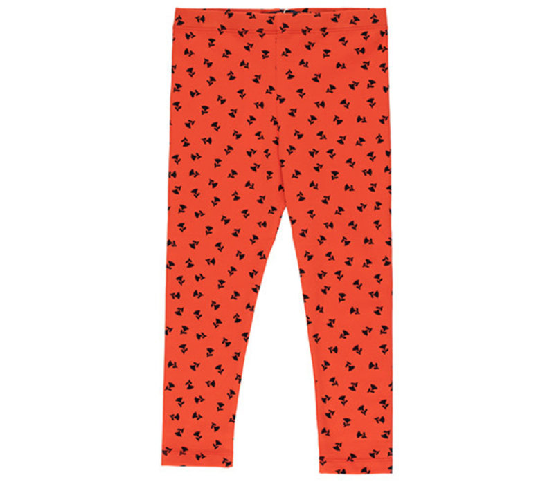 "Tinycottons ""TINY FLOWERS"" PANT red/navy"